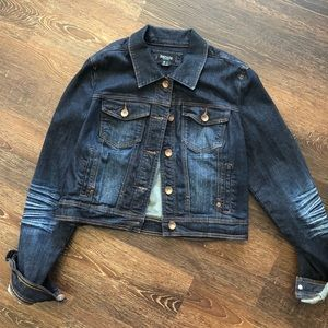 Kensie short Denim jean jacket large